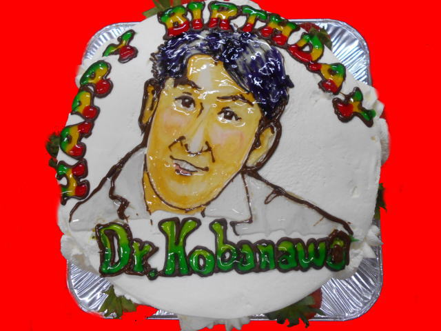 Dr.KOBANAWA  HAPPY BIRTHDAY